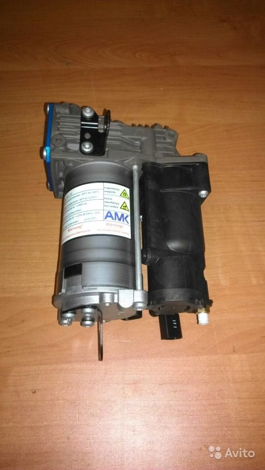 Ремонт компрессора пневмоподвески мерседес w164 своими руками
