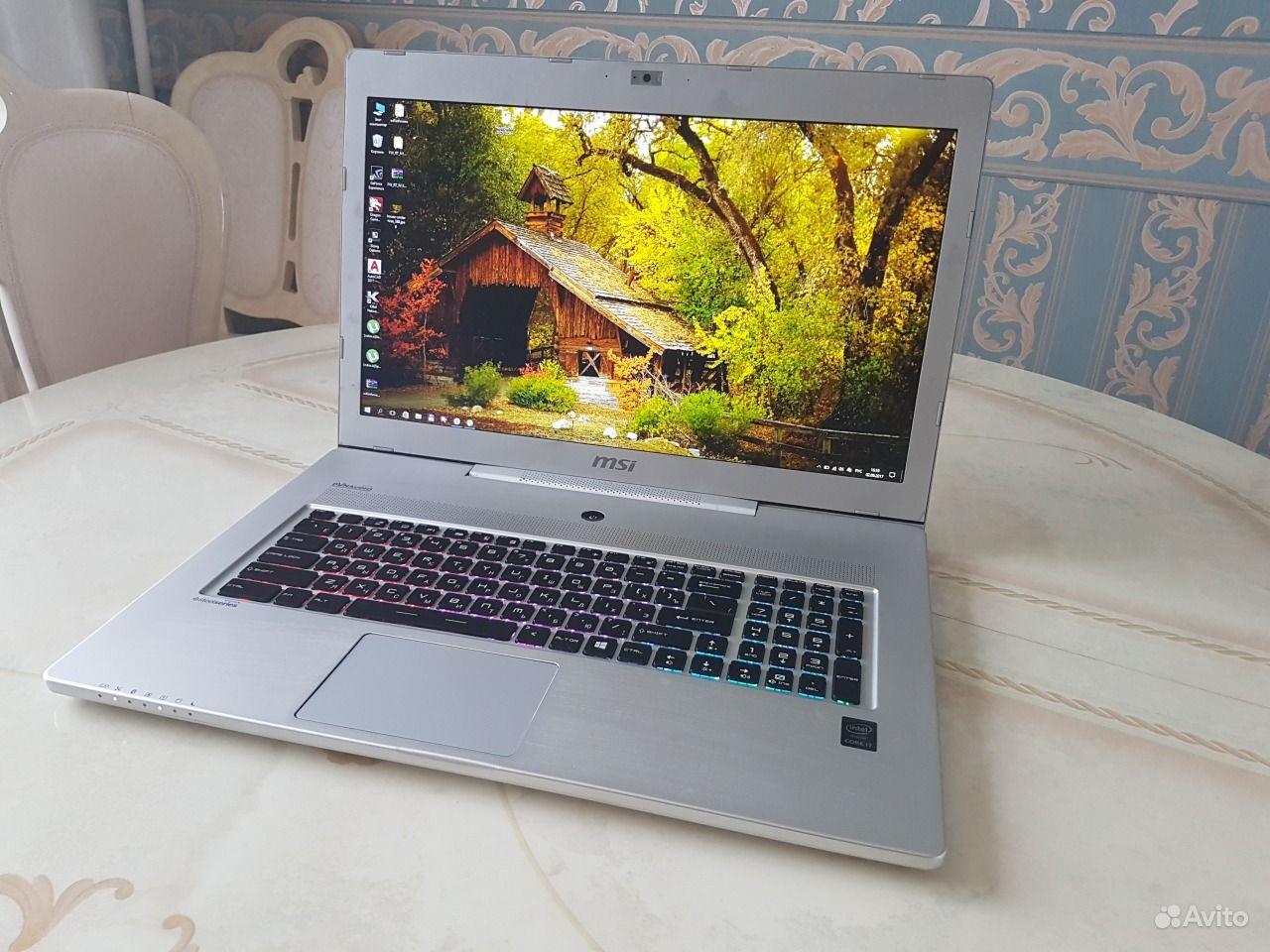 Игровой ноутбук MSI GS70 Core i7 Geforce GTX970M.  Москва