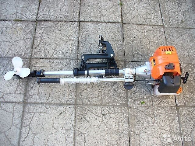 насадка для мотора триммера для лодочного мотора купить в перми