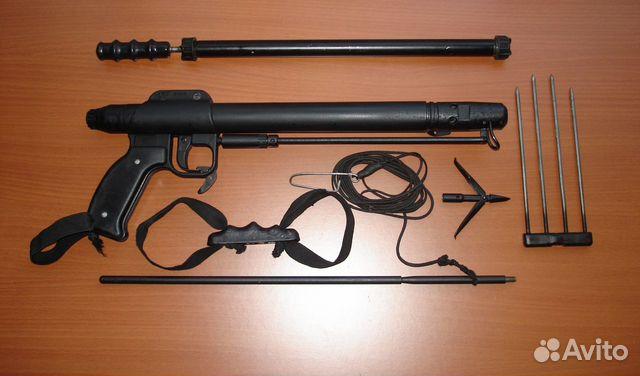 40 см по лучшей цене c фотографиями и описанием, продаю в Москва - Ружье для подводной охоты рпп-2.