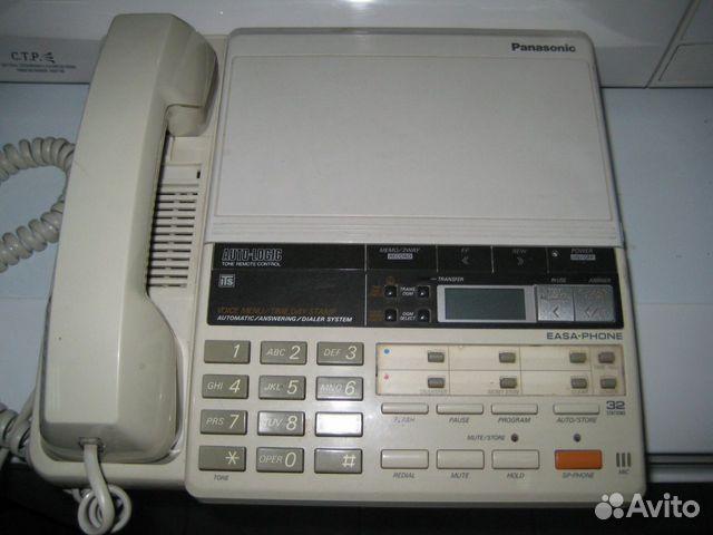 Телефон Panasonic c записью,