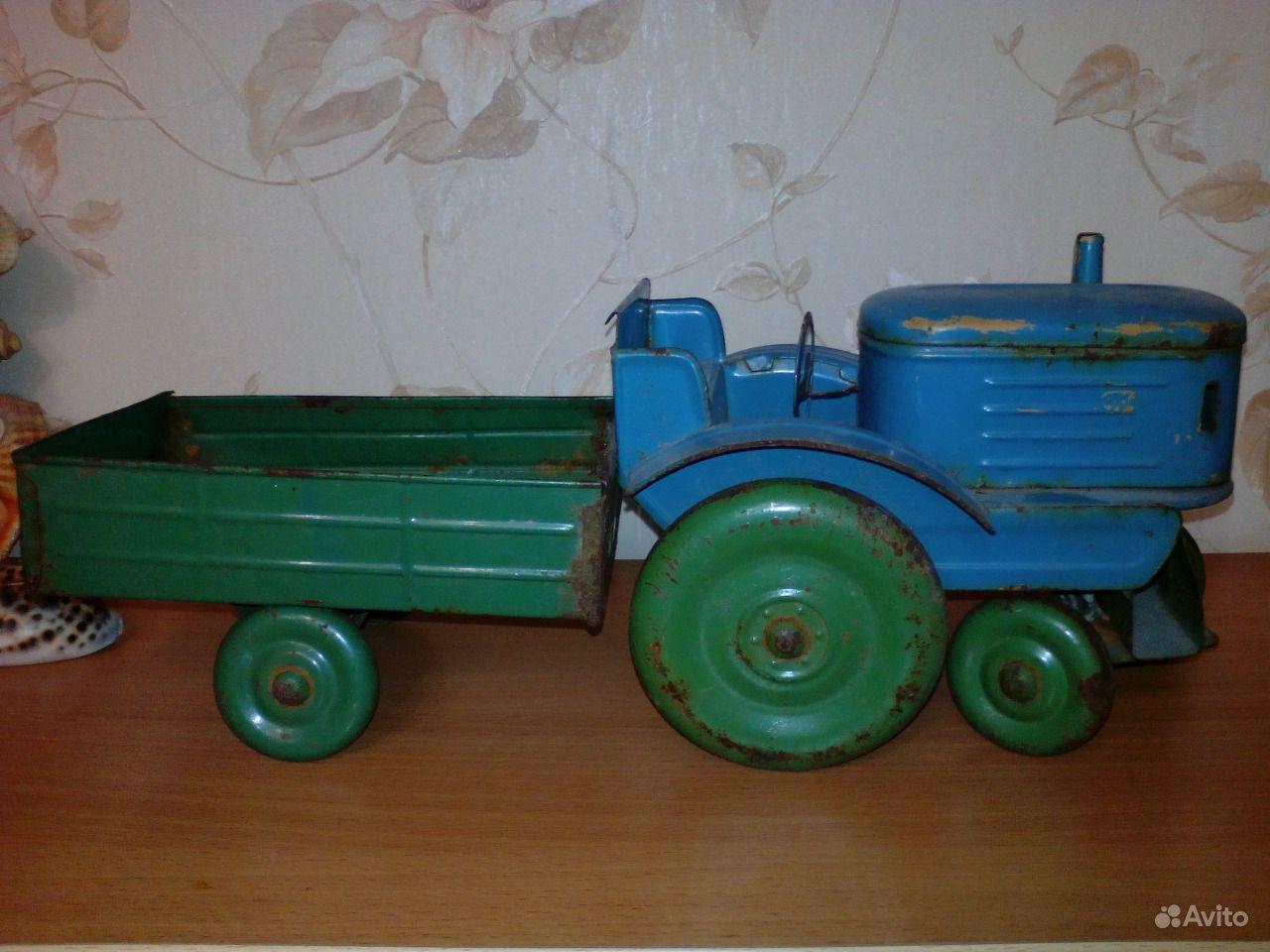 этот трактор с прицепом игрушка ссср фото вас долгую прекрасную