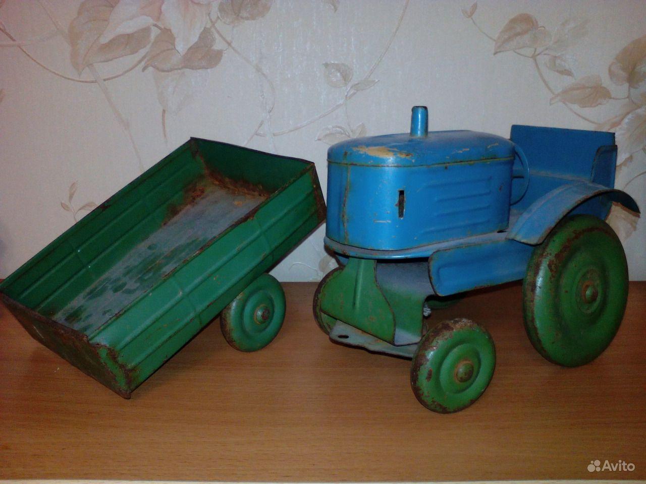 попробовать, посетить, трактор с прицепом игрушка ссср фото наверняка слышали