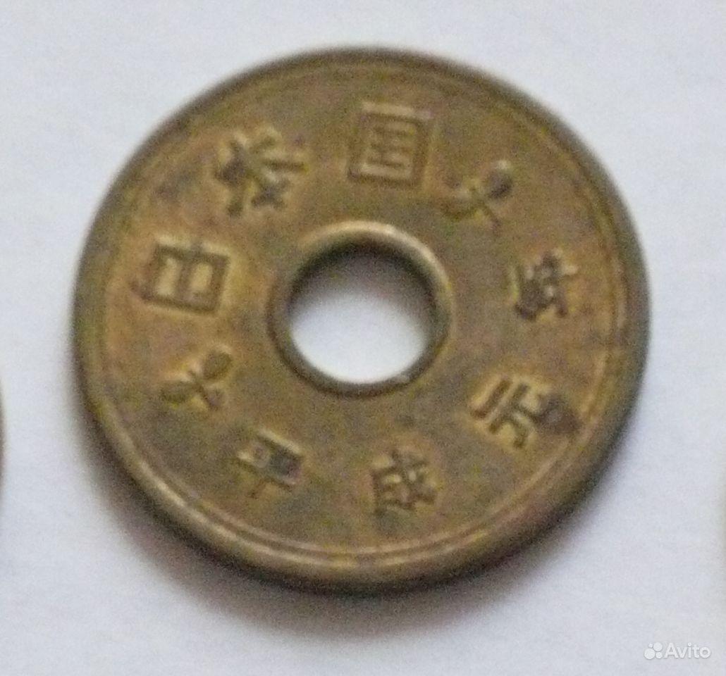 5 йен Япония купить в Санкт-Петербурге на Avito
