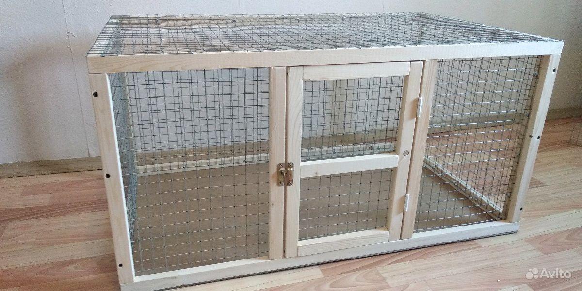 Клетки для животных на заказ в Воронеже - фотография № 1