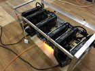 Майнинг ферма на 6 Radeon Rx 580 pulse 8 gb