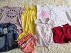 Пакет брендовых летних вещей девочке