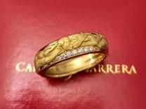 Carrera y Carrera Promesa золотое кольцо