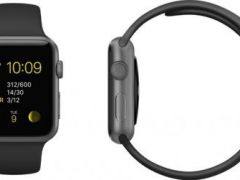 Apple Watch Sport 42 mm черные