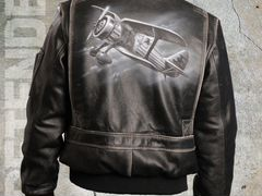 872795e517d0 Кожаная куртка Pretender