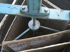 Медогонка трехрамочная оцин.(алюминоцинковая)