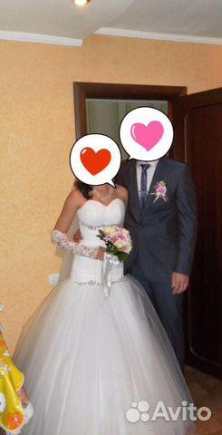 Свадебное платье валуйки