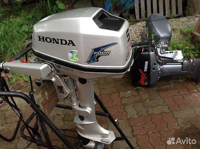 лодочный мотор хонда с 4-х тактным двигателем