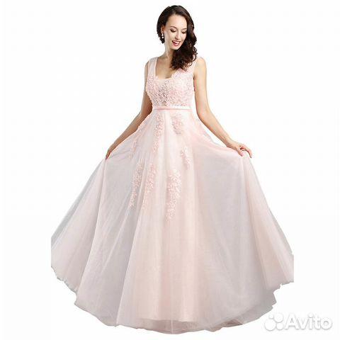 Новое розовое вечернее платье с пышной юбкой - Личные вещи, Одежда, обувь,  аксессуары - Москва - Объявления на сайте Авито c8d5ab0f2a9