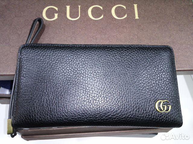 fe08a158713c Мужской портмоне Gucci кожаный | Festima.Ru - Мониторинг объявлений