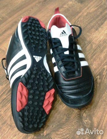 Кроссовки для футбола Adidas купить в Краснодарском крае на Avito ... 276d56f7efa