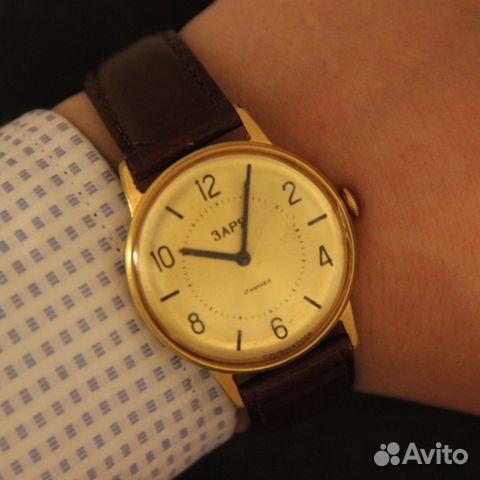 378873e2 Заря наручные механические часы СССР в купить в Москве на Avito ...
