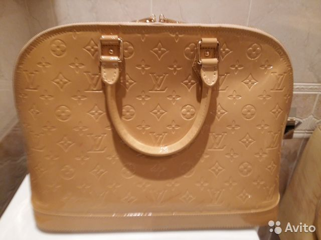 Бежевая сумка Louis Vuitton - brand-fashioncomua