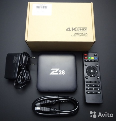 Android Smart TV Box Z28. Новый. 2Гб/16Гб