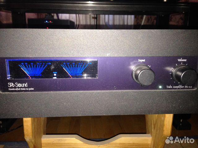 Ламповый усилитель SPb Sound с фонокорректором— фотография №1