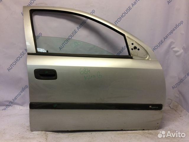 89657347629 Передняя правая дверь Opel Astra G