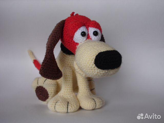 Вязаная собака бигль