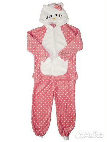 Детская пижама кигуруми HelloKitty купить в Москве на Avito ... f05fee50b13da