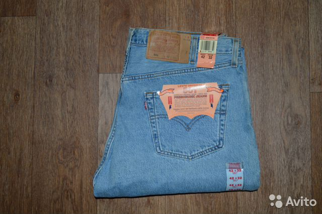 ca30054db03b Джинсы Levis 501 W42 L32, Made in USA, 1993г купить в Санкт ...