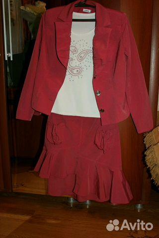 Костюм юбка 89206050065 купить 2