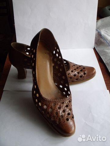Туфли женские кожаные (Made in Brazil)— фотография №1 c1c7d26a310