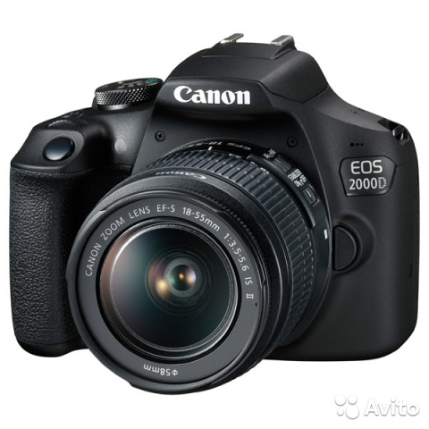 Canon 2000D KIT EF-S (18-55 II IS) Новый