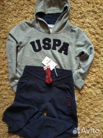b80d22f8 Костюм спортивный U.S. Polo Assn | Festima.Ru - Мониторинг объявлений