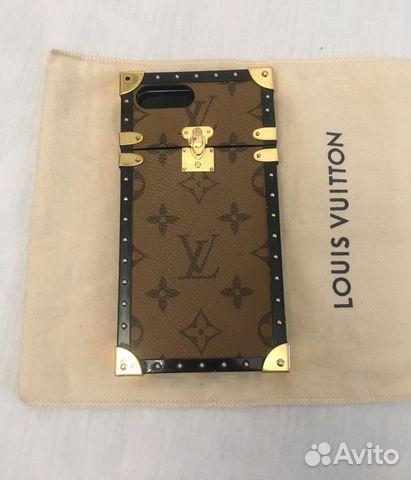 6e8bea2a9dfe Чехол Louis Vuitton iPhone 7 Plus Оригинал купить в Санкт-Петербурге ...