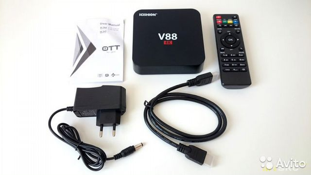Приставка к тв Smart TV Box Android