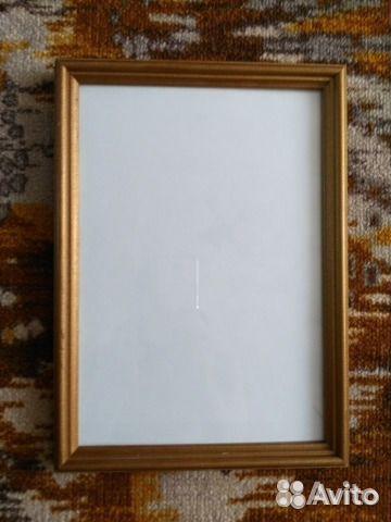деревянная рамка со стеклом A4 21х30см купить в республике