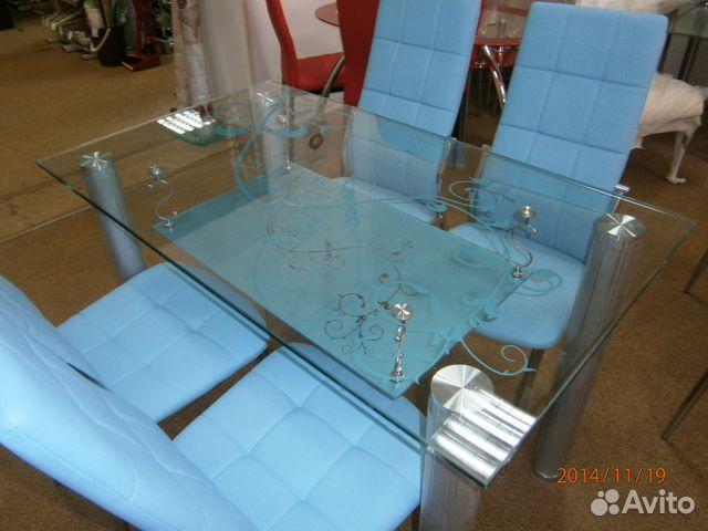 стол и стулья для кухни купить в алтайском крае на Avito