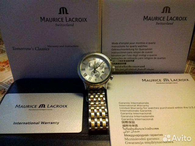 64ec699d Швейцарские часы Maurice Lacroix купить в Москве на Avito ...