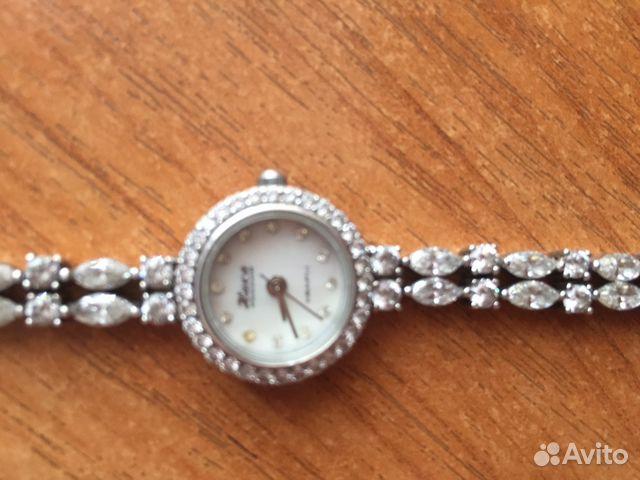 627e90451906 Часы ника серебрянные с цирконами   Festima.Ru - Мониторинг объявлений