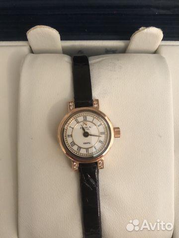 Золотые мужские часы Longines