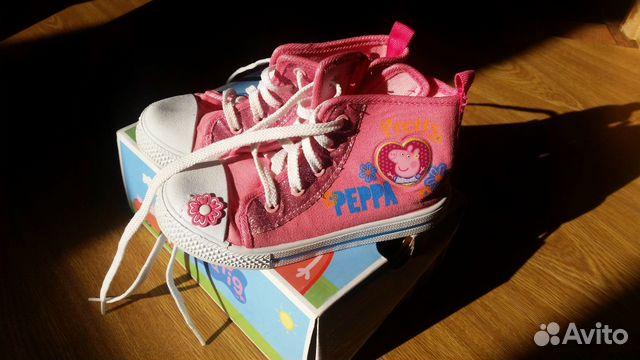 Ботинки 26рр. Peppa pig  283000 купить 2