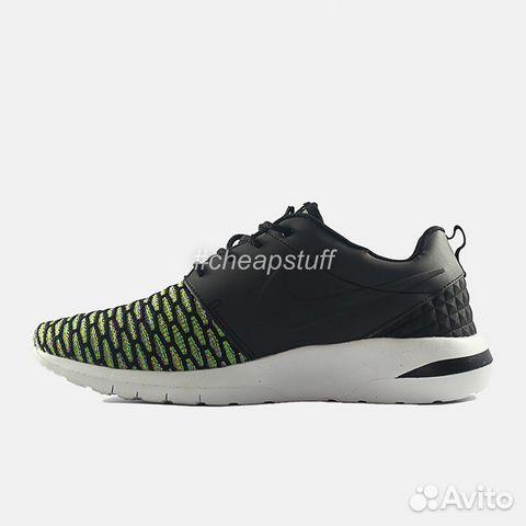 9455355a Кроссовки Nike Roshe Run NM Flyknit Green купить в Санкт-Петербурге ...