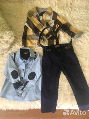 3d128e2fea8 Нарядный костюм 2 рубашки и брюки купить в Тамбовской области на ...