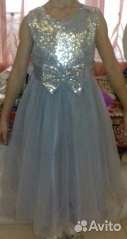 Новогоднее праздничное платье для девочки 89245055073 купить 1