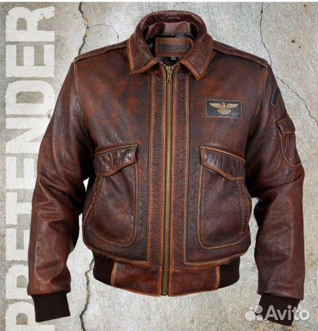 5ec3fe6df00f Куртка мужская из стираной кожи буйвола
