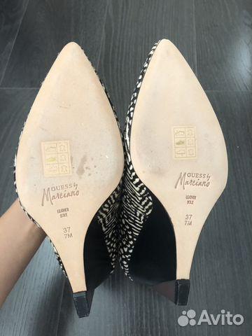 Туфли Guess новые, размер 37 89654514444 купить 7