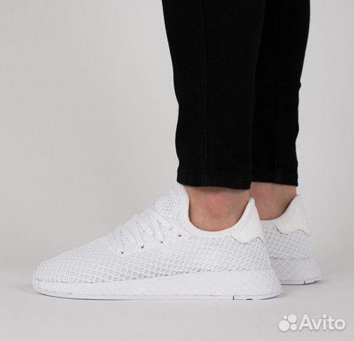 1636bbd9 Мужские кроссовки Adidas Deerupt white купить в Москве на Avito ...