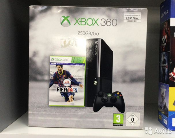 Xbox 360 E 250gb (не прошита) Б/У