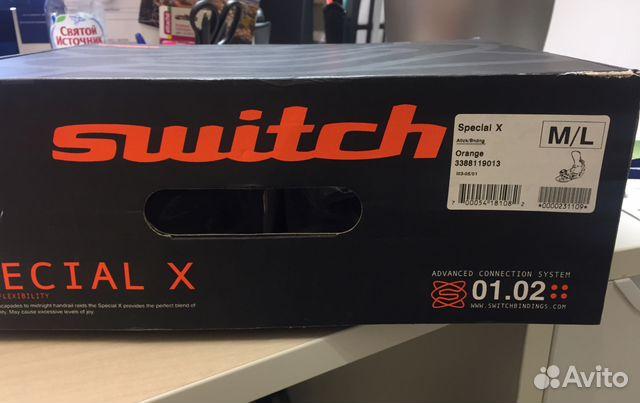 2434f062f0bd Крепление для сноуборда, Switch special X, M L купить в Москве на ...