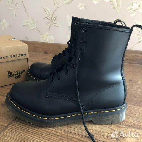 Dr.Martens 1460 black smooth ботинки  05b9831bb56ac