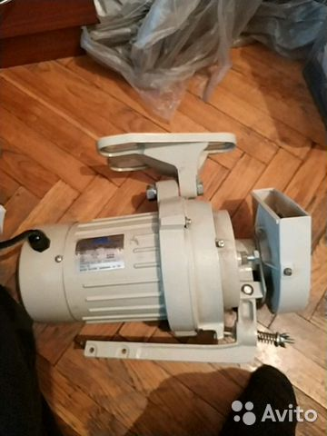 Мотор от швейной машинки ISM clutch motor NS-412— фотография №1